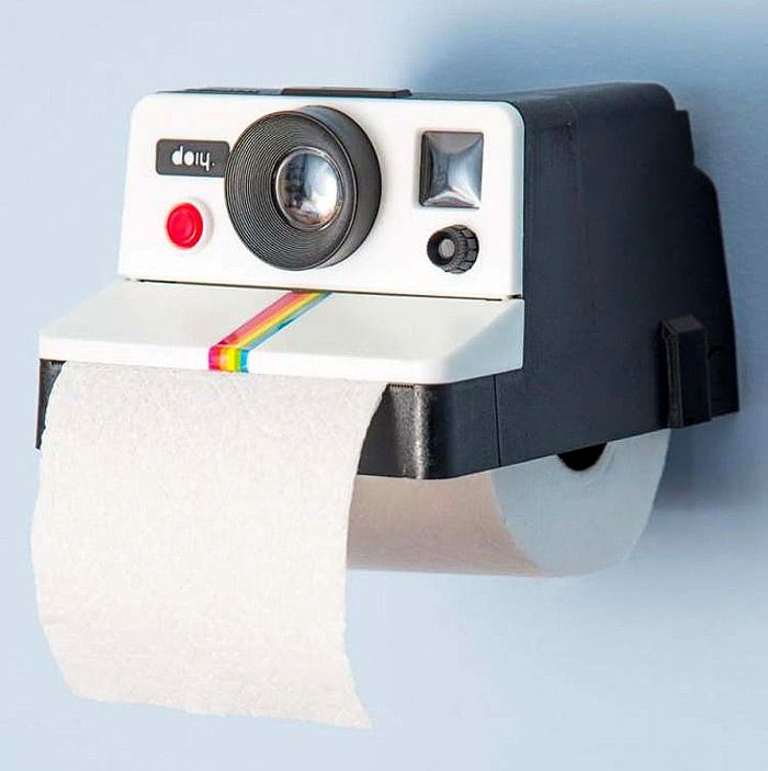 Polaroid Camera Design Tissue Box,Use the coupon code:Happyday07,12% off now !  #gadgets #product_design