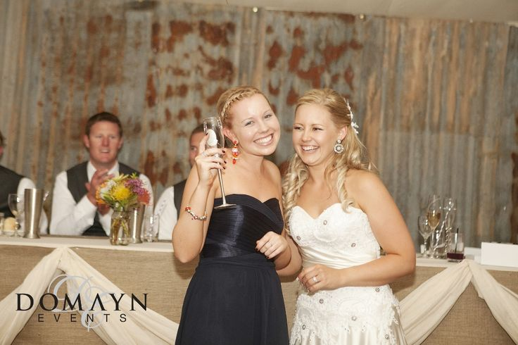 One of the most stunning rustic marquee weddings we've ever created. See more at www.domaynevents.com.au