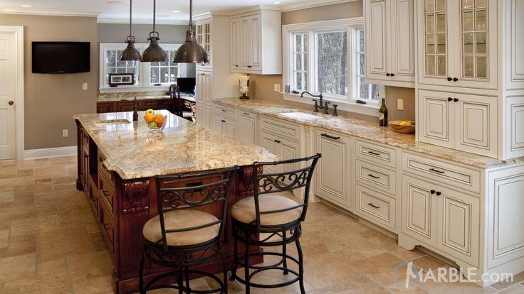 Yellow River Granite Kitchen Counters