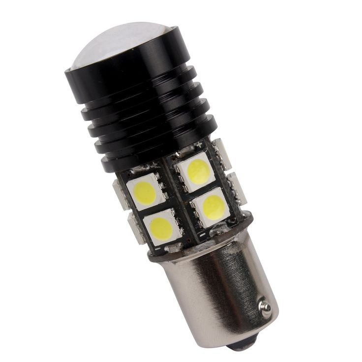 Reversing Light 1 piece Universal T20 1156 Car-styling Automobile Accessoies High Quality 12 smd Car Lights 12W LED