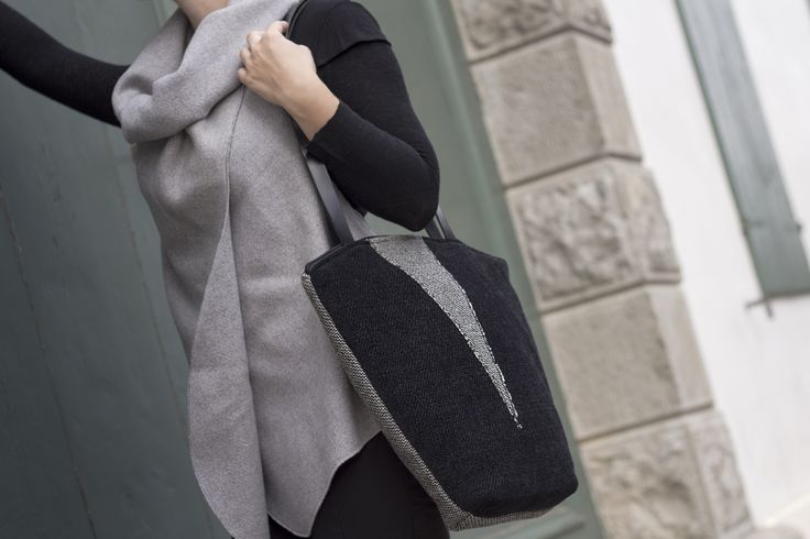BAG by Hand  #F/W2015 #Black&Gray  info.mandulis@gmail.com www.mandulis.it