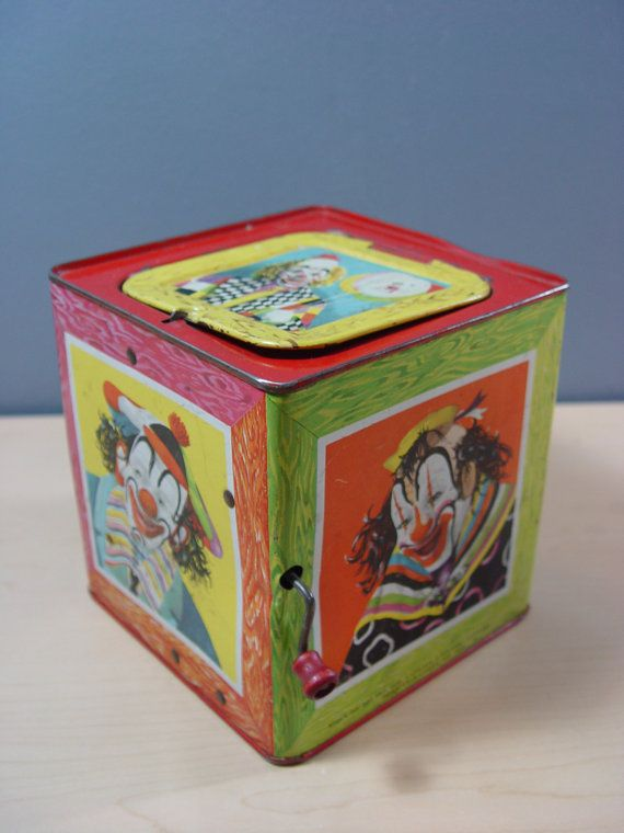 Toys From 1953 : Best jack in the box images on pinterest old