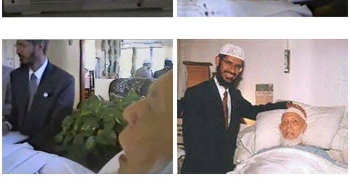 Dr Zakir Naik with Shaikh Ahmed Deedat-Man who made me da'ee