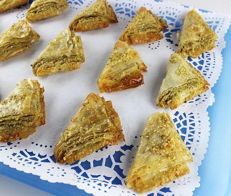 Baklava (pastissets Turcs) #thermomix