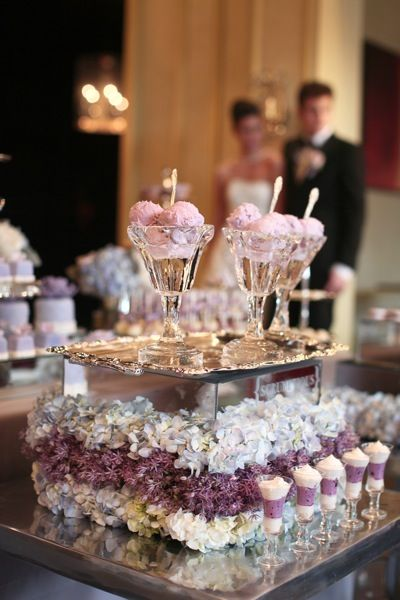 Nothing like a ice cream bar at your #wedding. Wedding by ...