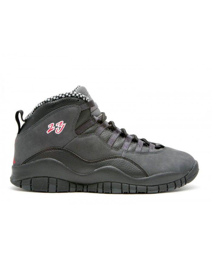 8f2f9ebb9bb Air Jordan 10 Retro Countdown Pack Black Dark Shadow 310805 061 ...