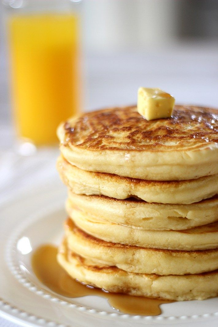You'll be challenged to find a better recipe than this one for pancakes. Soft and fluffy, they are perfect to whip upfor brunch on the weekend. Serve them stacked high with pure maple syrup.…