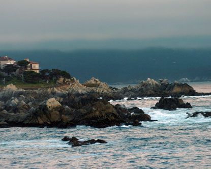 17 Mile Drive, Pebble Beach, California - the one summer I visited Northern California w/ my dad