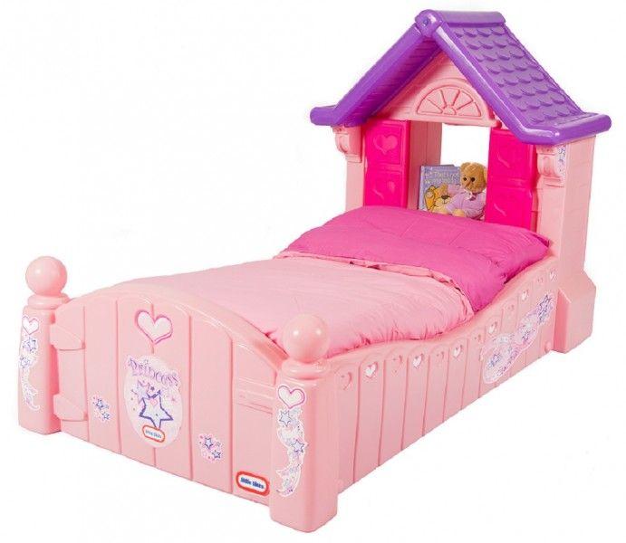 Mobilier pentru Copii LITTLETIKES cu Patut pentru fetite Princess Cozy