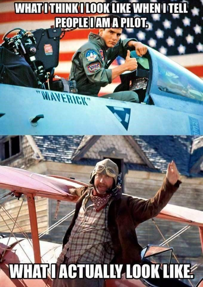 Still a pilot either way! #aviationhumor #pilothumor #pilotlife #flyingisahabit