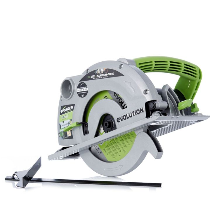 508380 Evolution Fury 185mm Circular Saw with 3 TCT Multi Purpose Blades  QVC Price: £89.00  Introductory Price: £79.98 + P&P: £8.95 or 2 Easy Pays of £39.99 +P&P   A diamond blade from Evolution, designed to cut through natural stone, brick, block paving, ceramics, wood and even steel. Ensure a clean and even cut every time with this sleek diamond blade from Evolution.