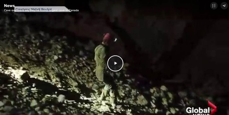 """The cave may be 1,000 metres in total. To date, 5.3 kilometres of its length have been measured.""""I expect with the ongoing effort that this cave system could also become one of the longest in Canada,"""" Bruns said."""
