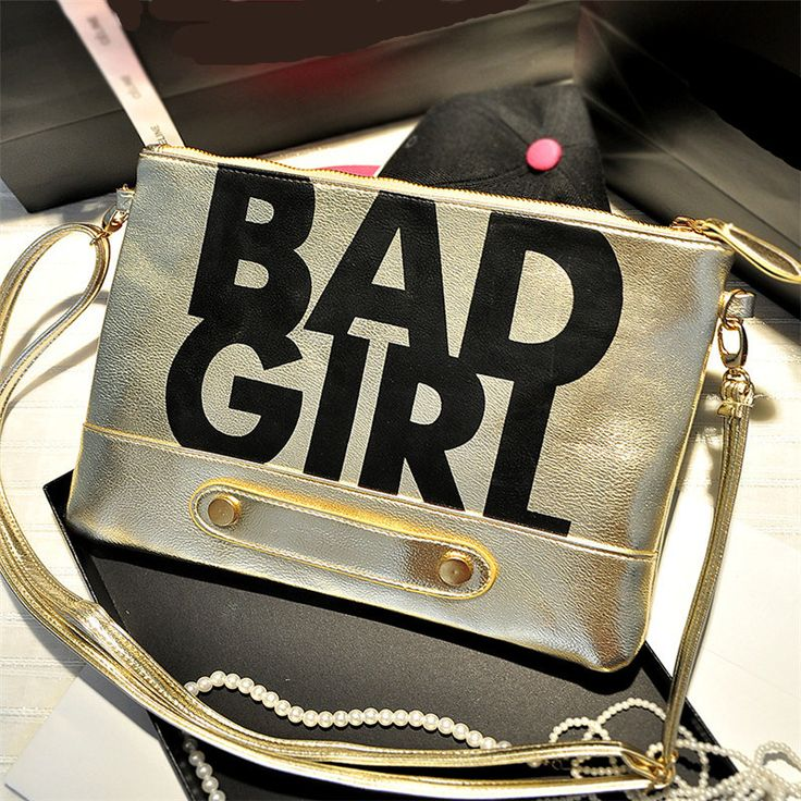 Bad Girl Envelope Clutches //Price: $11.88 & FREE Shipping // #shop #clutch #bagsdesigns