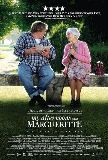 A charming French film with an illiterate Gérard Depardieu bonding with a well-read older woman (Gisèle Casadesus) - 'My Afternoons with Margueritte'.