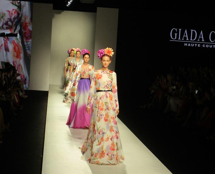 Dubai, successo per la nuova collezione couture di Giada Curti sulla passerella del più importante evento Arabo d'Alta Moda.