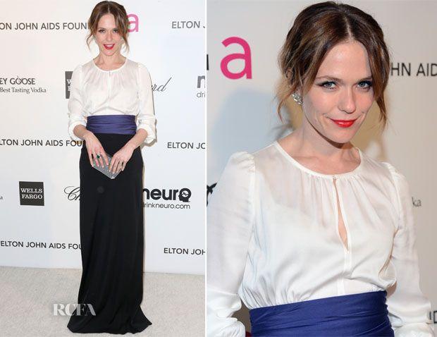 Katie Aselton In Paule Ka – 2013 Elton John AIDS Foundation Oscars Party