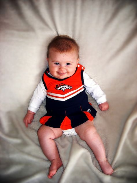 17 Best images about Denver Broncos Baby Fun on Pinterest