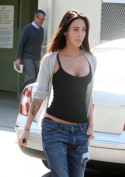 Casual Megan Fox