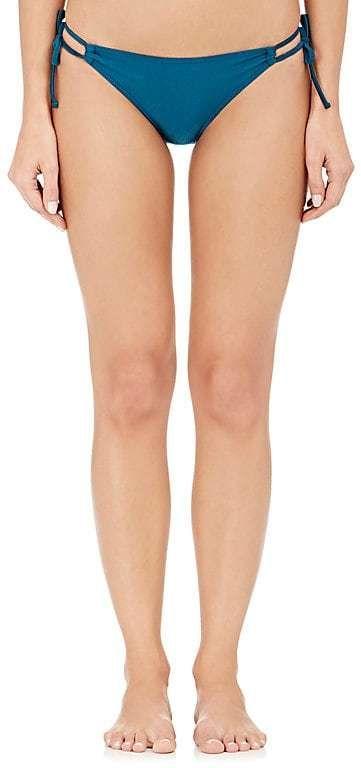 YASMINE ESLAMI Women's Double-Strap String Bikini Bottom