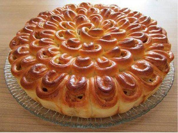 "Meat pie ""Chrysanthemum"" This recipe is in English...."
