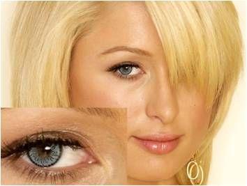 Celebrities Wearing Big Eye Contact Lenses