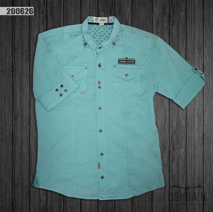 camisa-hombre-manga-3-4-color-verde-200626