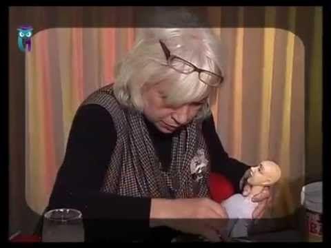 МК Авторская кукла. Лепка3 - YouTube