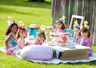 Cutest Tea Party Time For Create Kids Couture