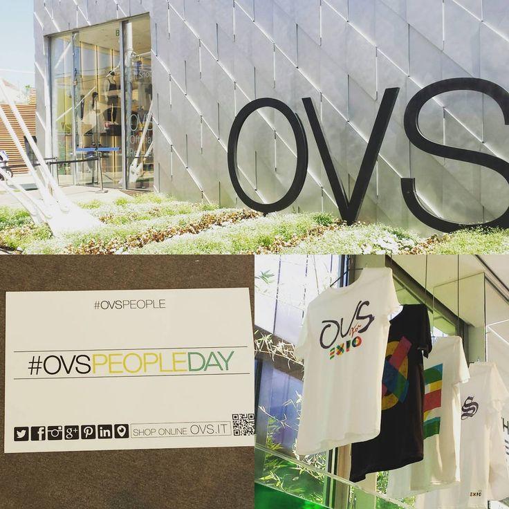 ovspeopleIt's a beautiful day in  Nel nostro store a @expo2015milano  il primo #ovspeopleday!