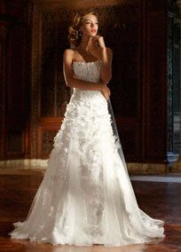 Luxurious Selection of Ball Gown Silhouette Wedding Dresses by David's Bridal