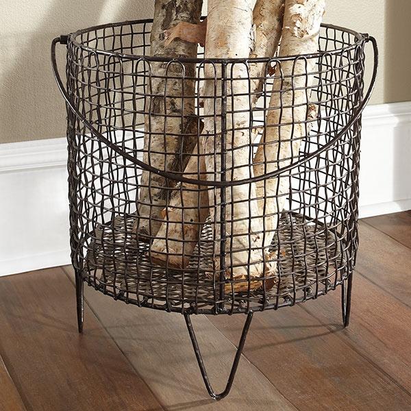 Iron Mesh Basket   Large | Storage $189