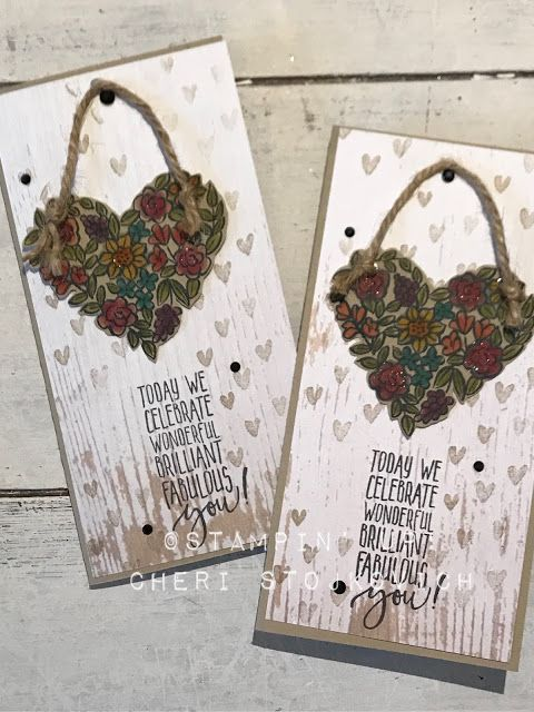 Stampin' Up!: Sneak Peak to the 2018 Occasions Catalog Heart Happiness and Picture Perfect Birthday with tutorial included DIY handmade cards online classes