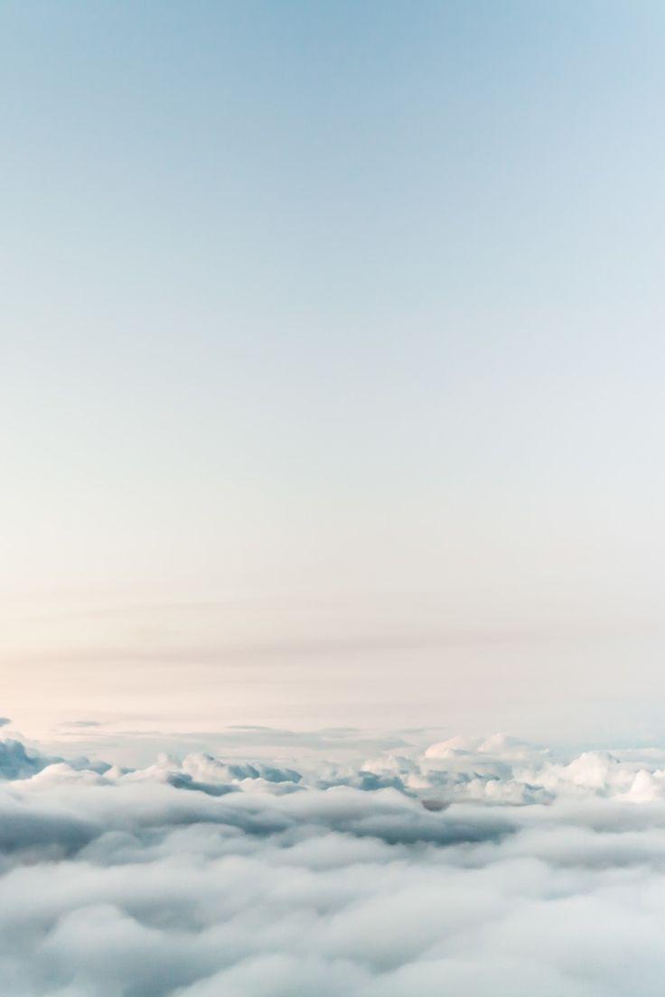 flight, mountains, sky, flying