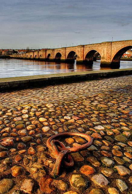 Berwick upon Tweed old bridge, England. My home town :)