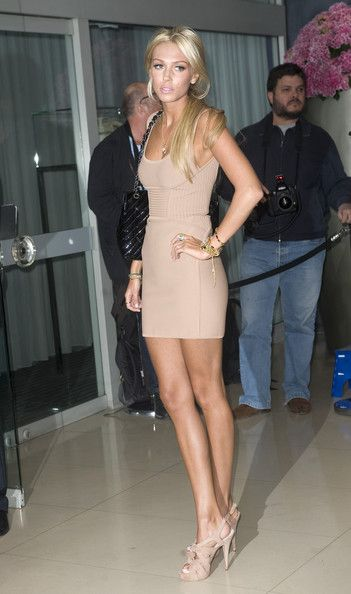 Petra+Ecclestone in An Evening At Sanderson - Arrivals dress color