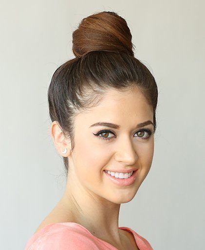 Diana Shin to show us how to create a bun style that will not only make you appear sleek and sophisticated, but also takes seconds to put together