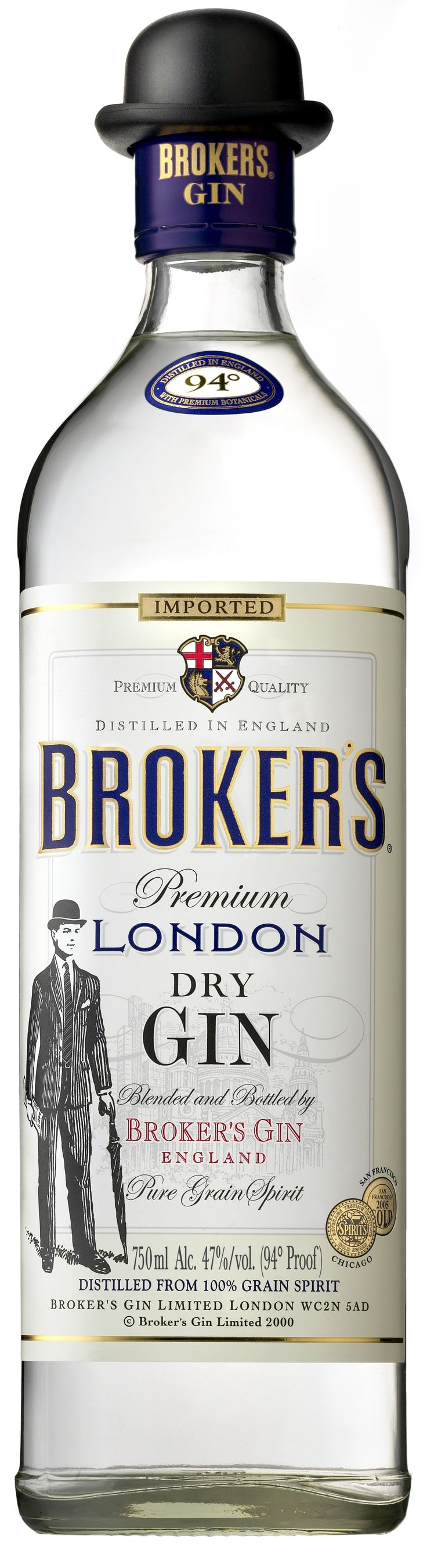 The kind of gin we'll use! Not sure if the hat is timely so it might not be included, but the bottle is correct.