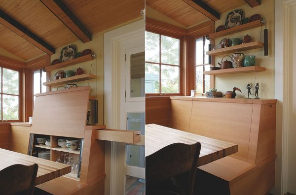 12 Ingenious Hideaway Storage Ideas For Small Spaces, via home designing trends.