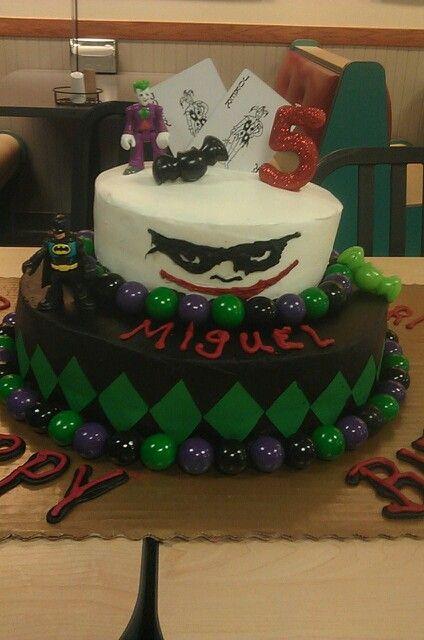 Joker Cake Mom S Cakes Pinterest Joker Cake