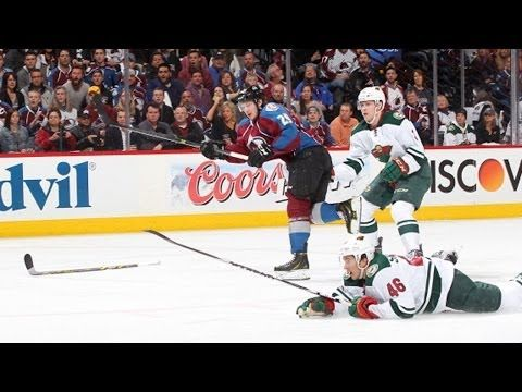 """He did this when he was 18 years old for the NHL team Colorado Avalanche. I kicked this kid off the Red Carpet at Shattuck. Only seniors are allowed on the Red Carpet and only by asking permission by a senior is an underclassmen allowed on it. Marlo Brando aka """"The Godfather"""" also got kicked out of SSM for lighting a match, sticking it in a trashcan and burning half the school down."""