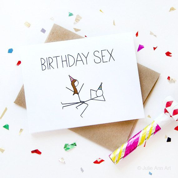 Funny Birthday Card Birthday Sex Card Boyfriend Birthday Card – Birthday Cards for a Boyfriend