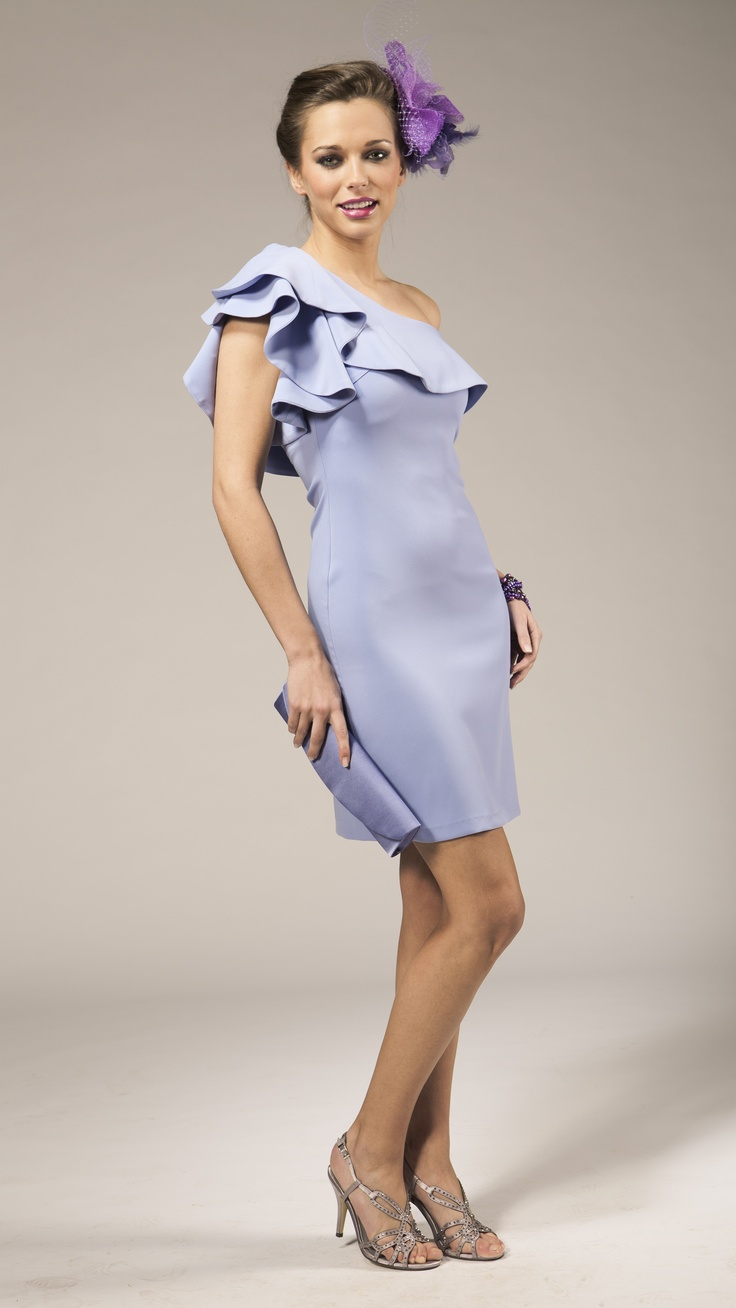 Short evening dress lavender colour | robe de soirée courte couleur lavende | Kort lavendelkleurig avondkleedje | Anne-Sophie SMARTSHOPPING