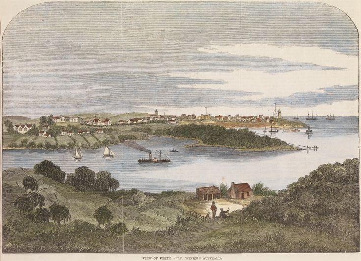 BA2181: View of Freemantle Western Australia, 1867.   http://encore.slwa.wa.gov.au/iii/encore/record/C__Rb3018446__Sba2181__Orightresult__U__X3?lang=eng&suite=def