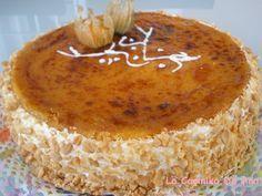 LA MEJOR TARTA , sin duda de este año. Esta es la mejor... Las tartas con yema tostada, me encantan, están exquisitas. Y aunque ya tenía ...