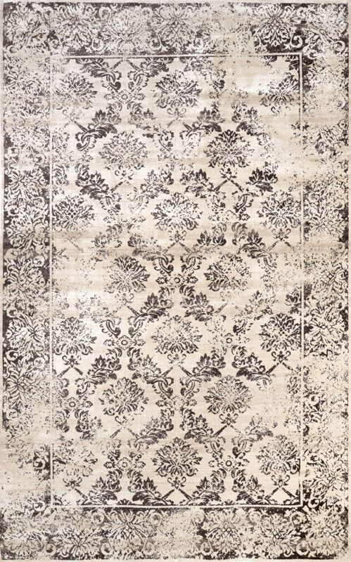 Nuloom CFVI08A-5208 Vintage Collection Brown Finish Machine Made Panel Molly