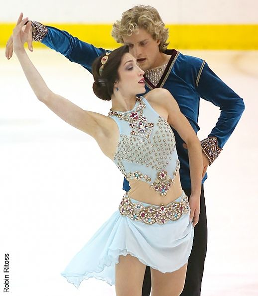Davis and White - Ice Dancing costume inspiration for Sk8 Gr8 Designs