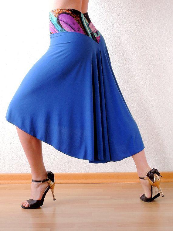 Blue Dream Tango Skirt by Selalma on Etsy, €50.00