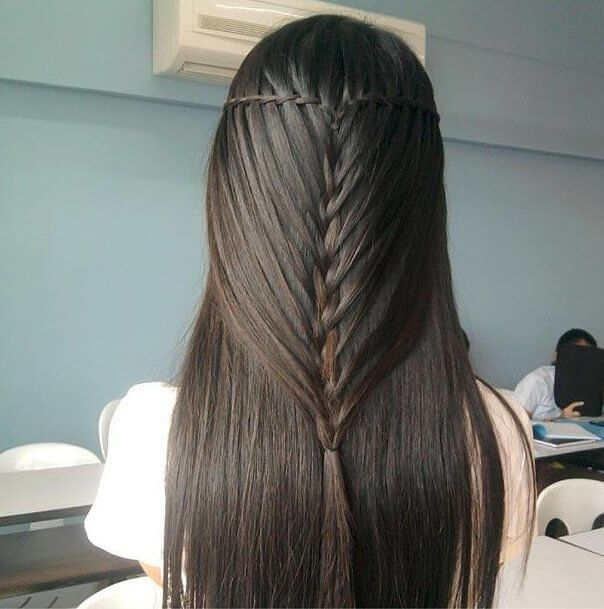 Minimal-Waterfall-Twist-Mermaid-Braid