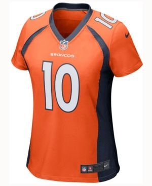 Nike Women's Emmanuel Sanders Denver Broncos Game Jersey  - Orange XXL