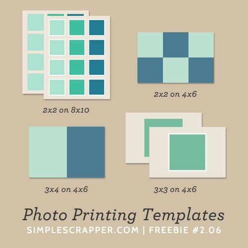 Free Photo Printing Templates...